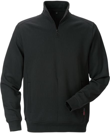 Kansas Match sweatshirt m/ lynlås