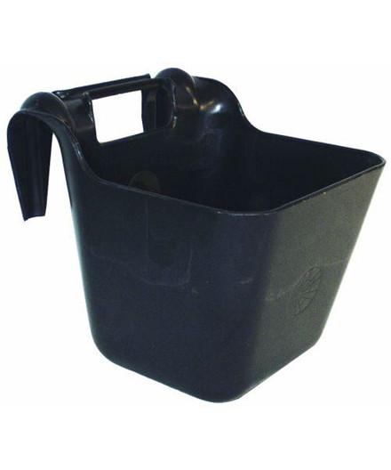 Transportkrybbe sort 13 liter