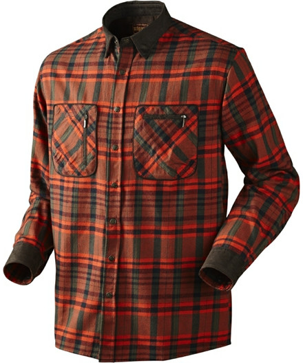 Härkila Pajala skjorte - bright red check