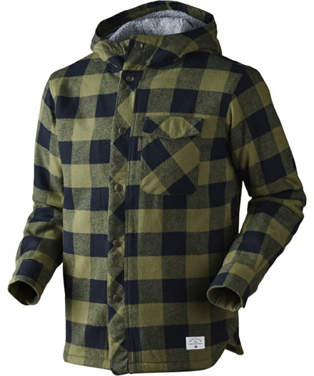 Seeland Canada jakke - winter moss check