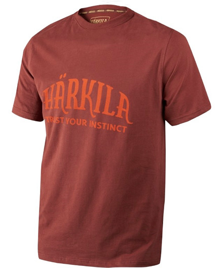 Härkila T-shirt - Fired Brick