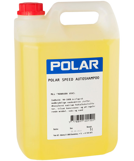 Polar Speed autoshampoo 5 liter