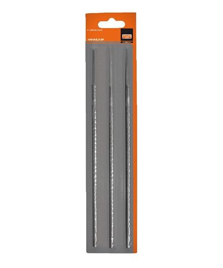 Bahco kædesavfil 4,8 mm 3 stk. u/hæfte