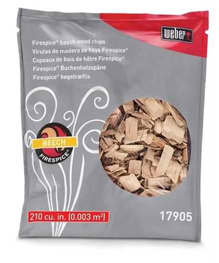 Weber Original rygeflis - bøg 1,36 kg
