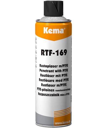 Kema Rustopløser med PTFE, RTF-169