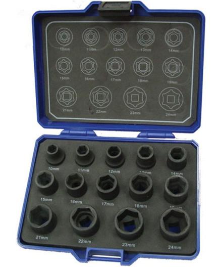 "BaTo 1/2"" krafttopsæt 10-24 mm"