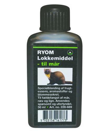 Ryom lokkemiddel til mår, ræv m.fl.