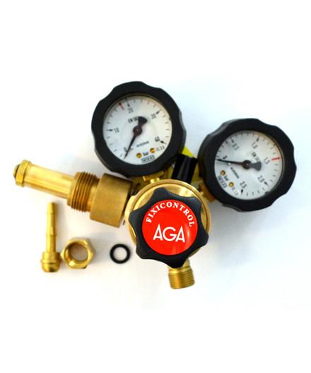 AGA FIXICONTROL HT regulator acetylen 0-1,5 bar f/svejsegas