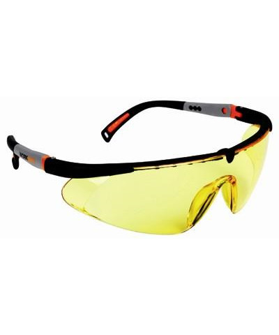 Worksafe Hawk Eye gul sikkerhedsbrille