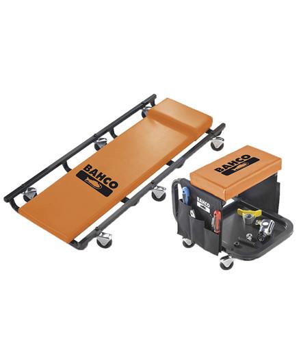 Bahco montørstol + liggebræt