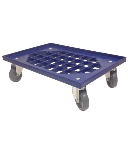Transporttrolley blå
