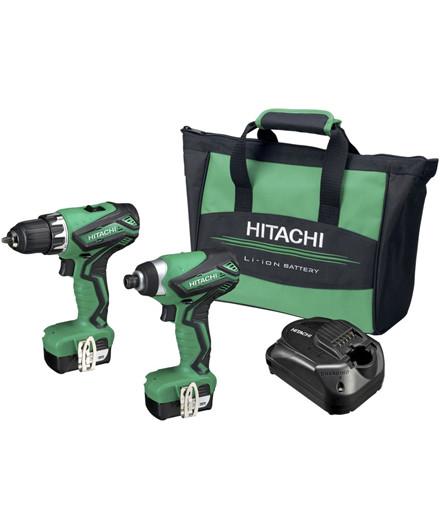 Hitachi akku 10,8V kombisæt