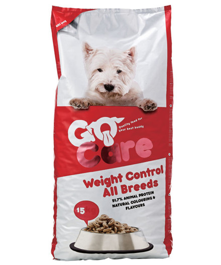 Go Care Weight Control hundefoder 15 kg