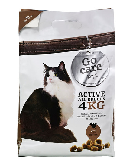 Go Care Royale Active All Breeds kattefoder 4 kg