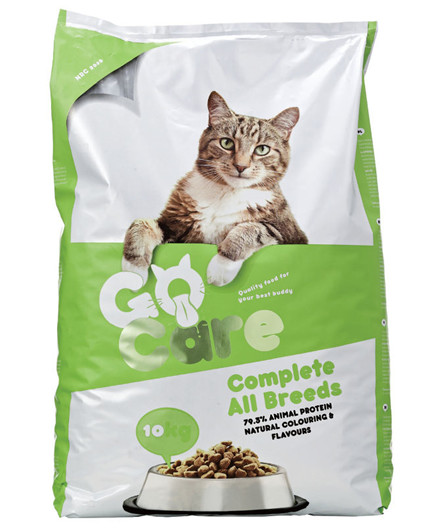 Go Care Cat Complete All Breeds kattefoder 10 kg