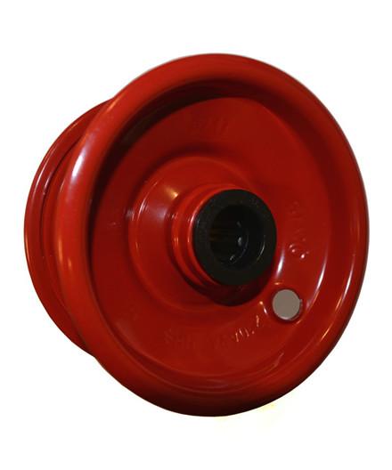 Starco 2.10x4 rød stålfælg
