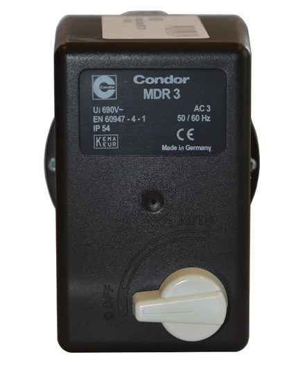 Condor MDR 3 pressostat 600V 6,3-10 amp