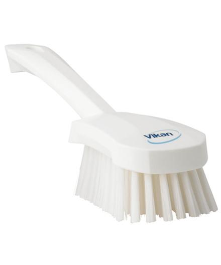Vikan middelhård vaskebørste med kort skaft