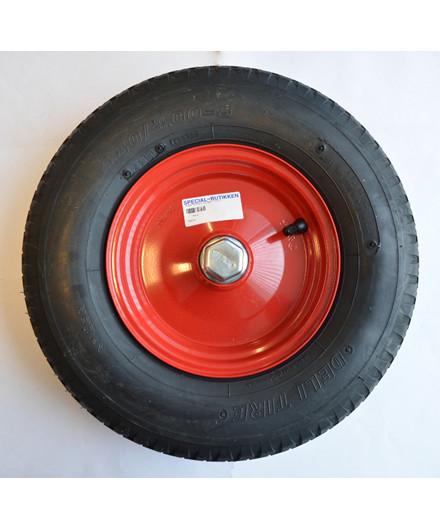 Starco punkterfri 4.00-8 hjul m/ purfyld