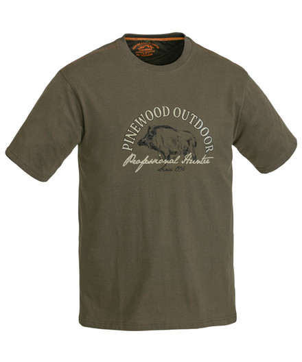 Pinewood T-shirt Wild Boar