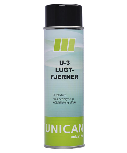 Unican U-3 lugtfjerner 500 ml
