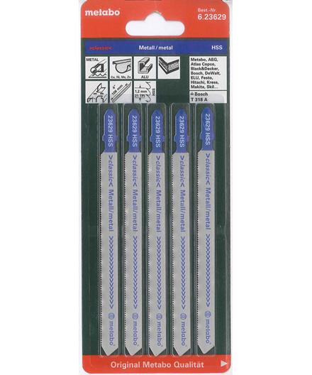 Metabo stiksavsklinger 5 stk. 106 mm til metal