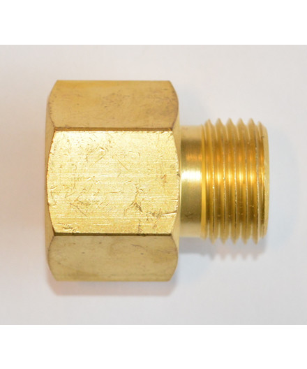 Adapter argonflaske til CO2-ventil