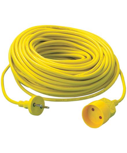 Schneider forlængerledning gul 20 m