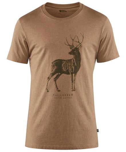 Fjällräven Deer Print T-Shirt