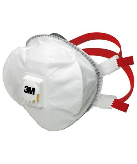 3M 8835 støvmaske m/ ventil FFP3 - 5 stk.