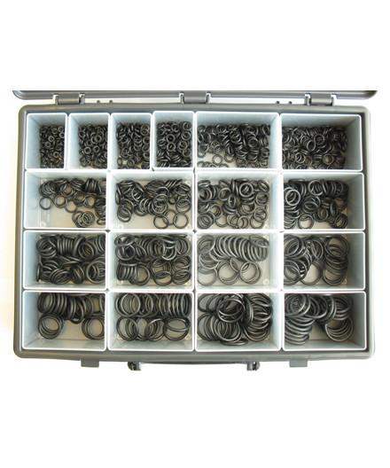 O-ringe - sortiment med 18 størrelser