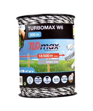 Turbomax W6 polytråd 200 m