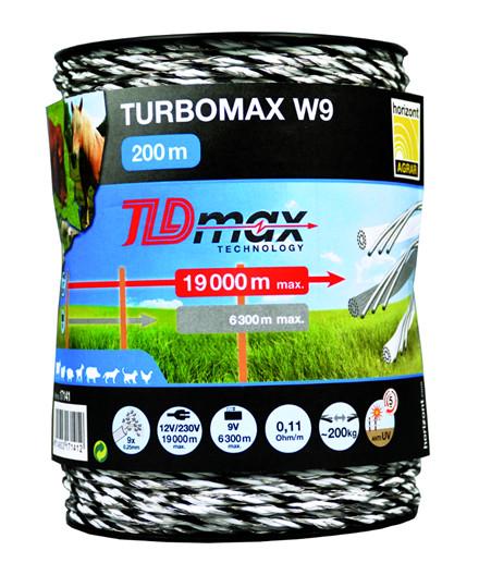 Turbomax W9 polytråd 200 m
