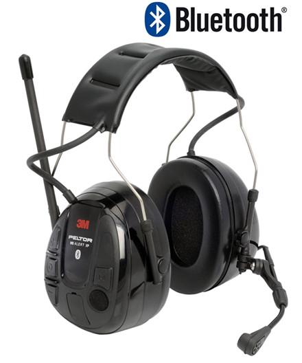 3M Peltor WS Alert XP høreværn m/ FM og Bluetooth