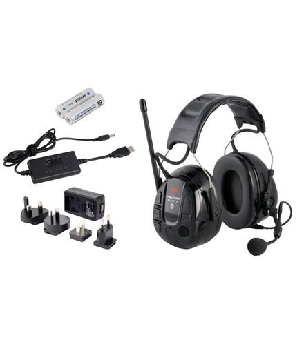 3M Peltor WS Alert XP høreværn m/ FM og Bluetooth inkl. oplader