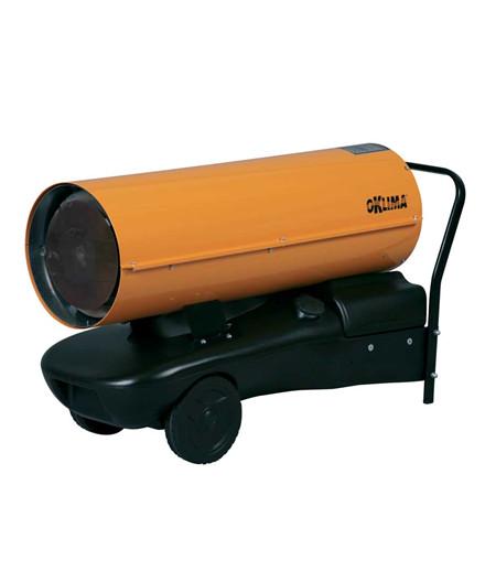 Oklima SD130 varmekanon - direkte fyret uden skorsten