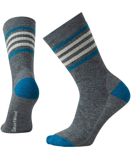 Smartwool Women's Striped Hike Medium Crew sokker