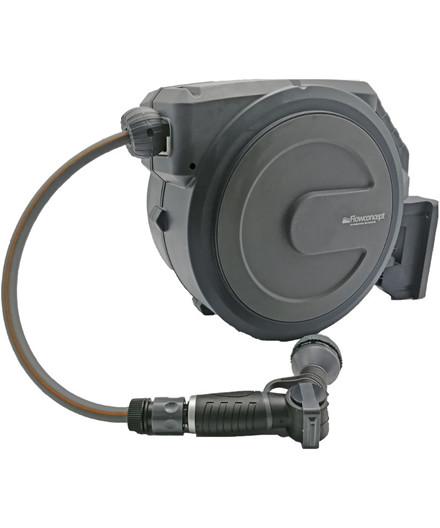 """Flowconcept automatisk slangeopruller m/ 40 m 1/2"""" vandslange"""