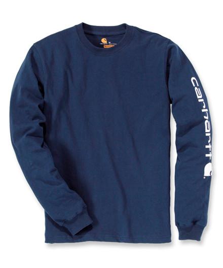 Carhartt Logo Long Sleve T-shirt