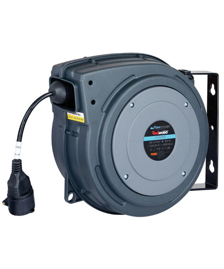 Flowconcept automatisk kableopruller 230V - 20 m