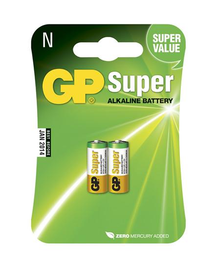 GP batterier Super Alkaline N/LR1 2 stk.
