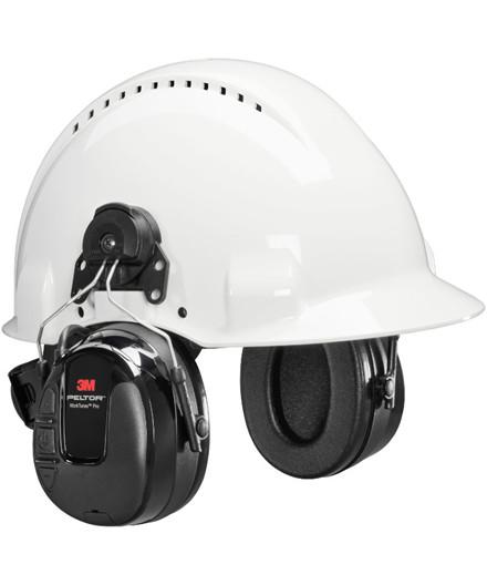 3M Peltor WorkTunes Pro FM høreværn til hjelm
