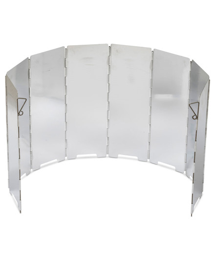 Hot Wok vindskjold m/ 8 paneler