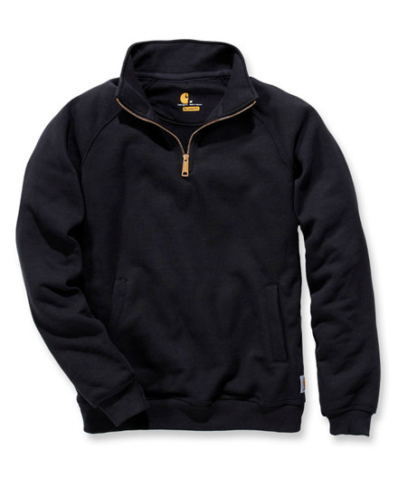 Carhartt Midweight Quarter Zip Mock Neck Sweatshirt