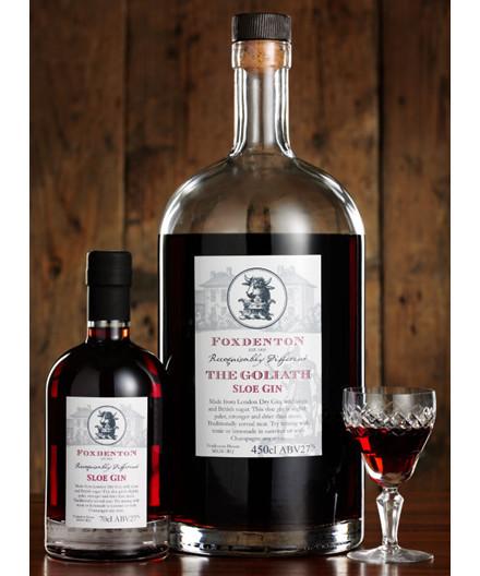 Laksen Make sure to be invited again - Foxdenton slåen gin 4,5 L