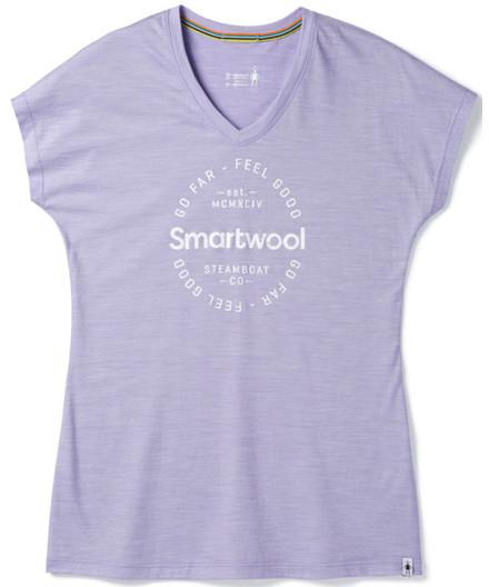 Smartwool Women's Merino Sport 150 Go Far Feel Good T-shirt
