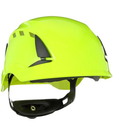 3M SecureFit X5500 sikkerhedshjelm - Hi-Vis grøn