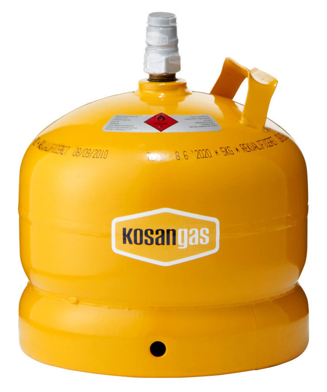 Kosangas 5 kg stålflaske - UDEN GAS