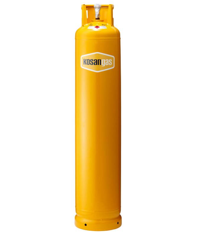 Kosangas 33 kg stålflaske - UDEN GAS