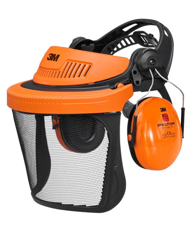 3M G500V5CH pandeskjold m/ visir og høreværn